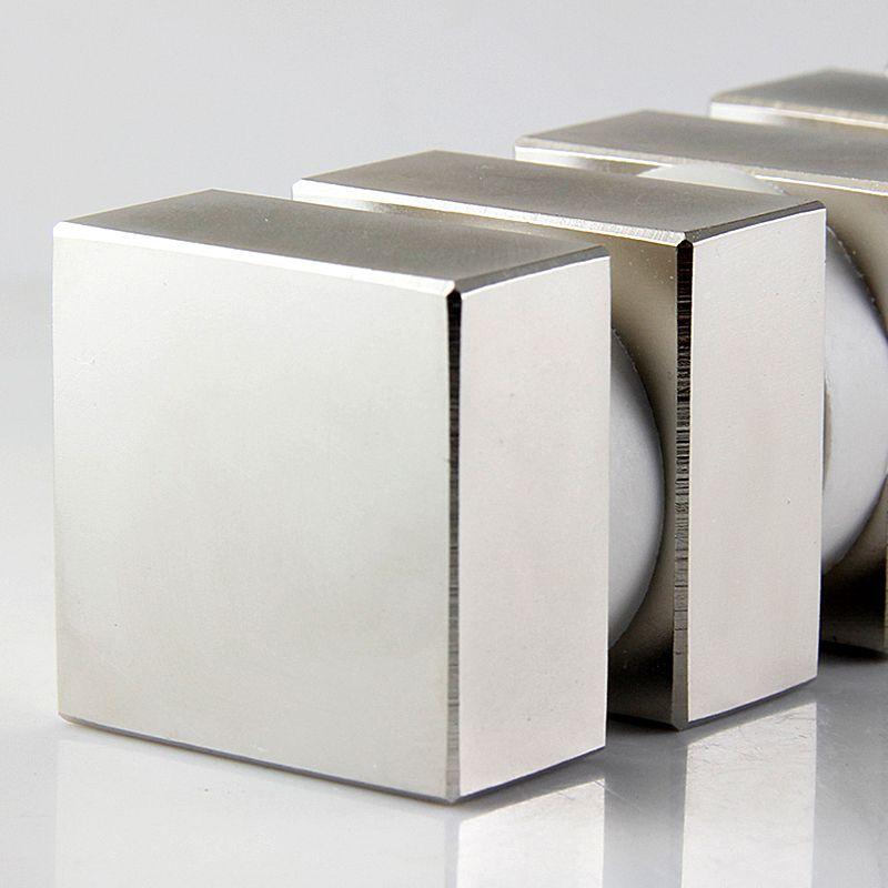 Bloc 2 pcs 40x40x20mm n52 rare earth forts aimants nickel néodyme aimant super forte