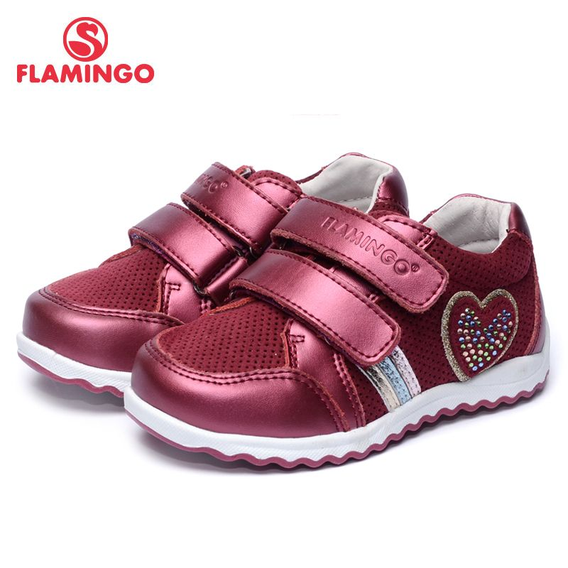 FLAMINGO 2017 New Arrival Spring & Autumn sneakers for girl Fashion High Quality children shoes 71P-XY-0131