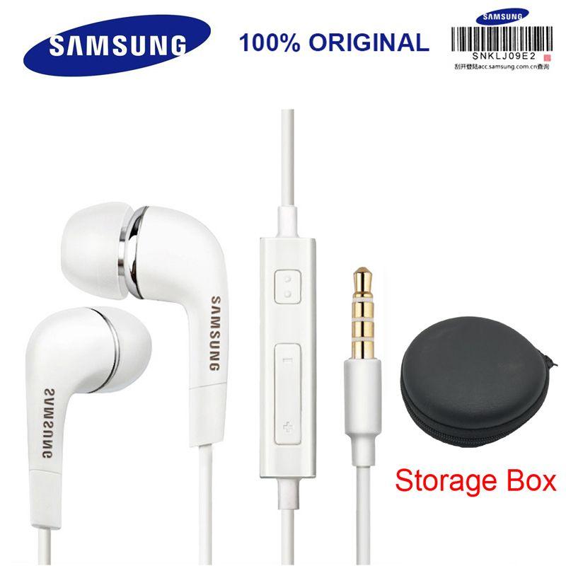 SAMSUNG Kopfhörer EHS64 Headsets mit Eingebautem Mikrofon 3,5mm In-ohr Verdrahtete Kopfhörer für Smartphones/Computer Offizielle Test