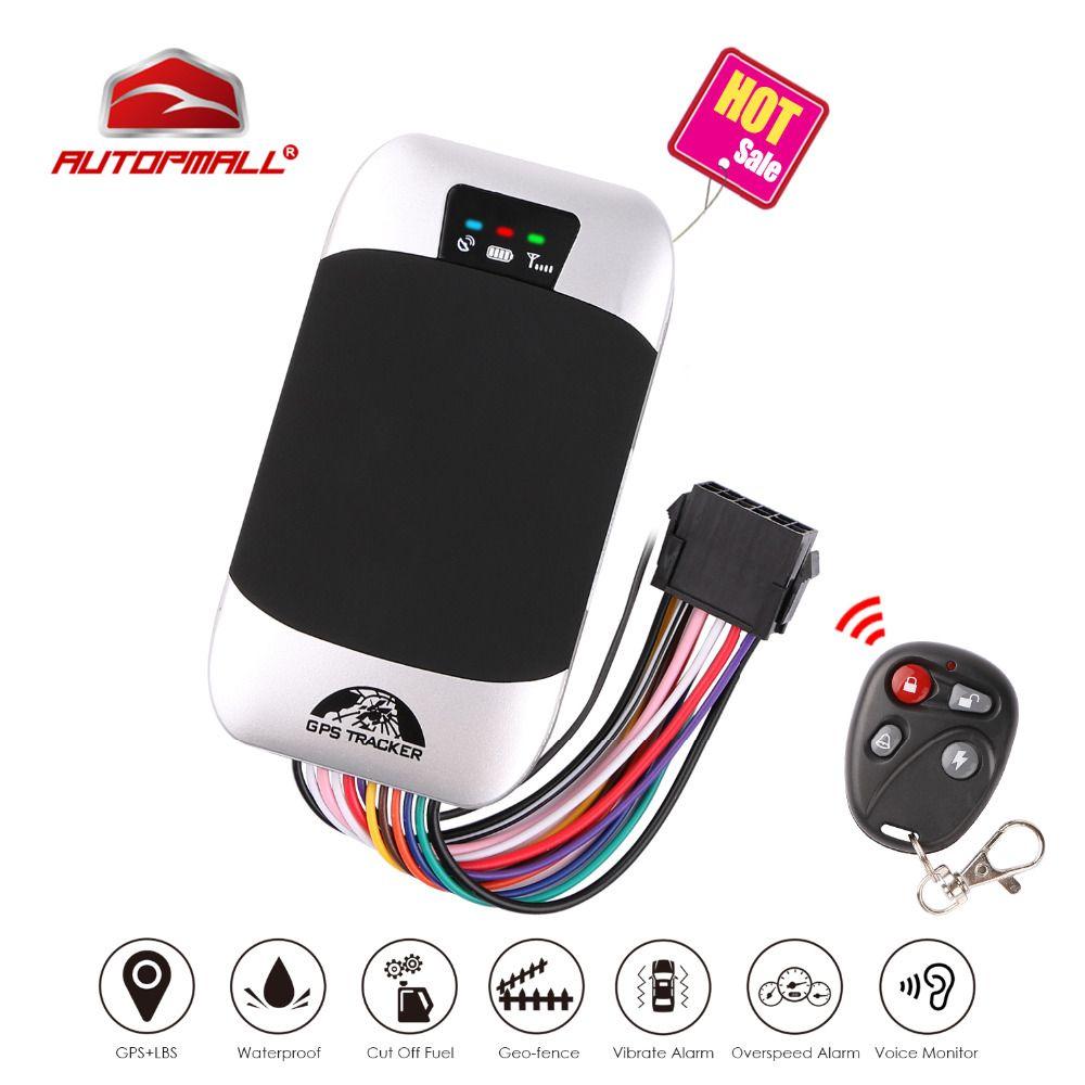 Car GPS Tracker Vehicle Tracker GSM GPS Locator Coban TK303G Waterproof IP66 Remote Control Cut Off Engine Geofence Free Web APP