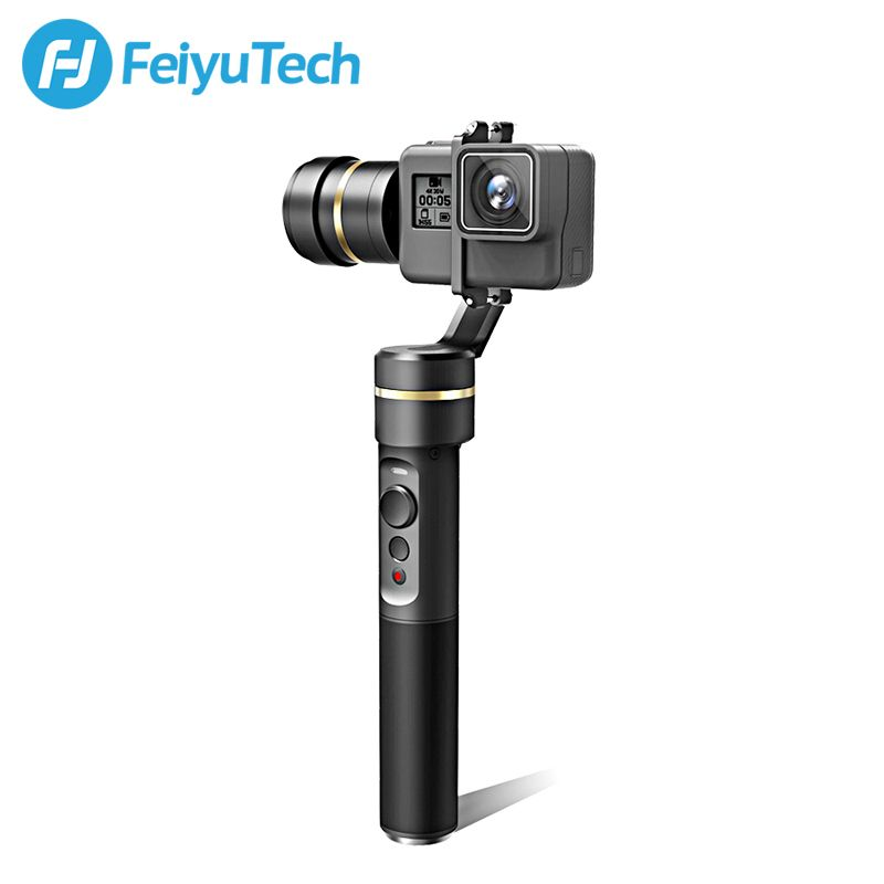 FeiyuTech New fy G5 3-axis Handheld Gimbal Splashproof For GoPro HERO5 4 3 3+ Xiaomi yi 4k SJ AEE Action Cameras Official Store