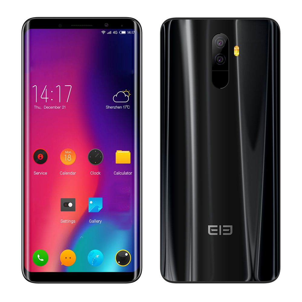 Elephone U Pro 4G Cellphone 5.99inch Android8.0 Qualcomm Snapdragon 660 OctaCore 6GB RAM 128GB ROM 13.0MP+13.0MP DualRear Camera