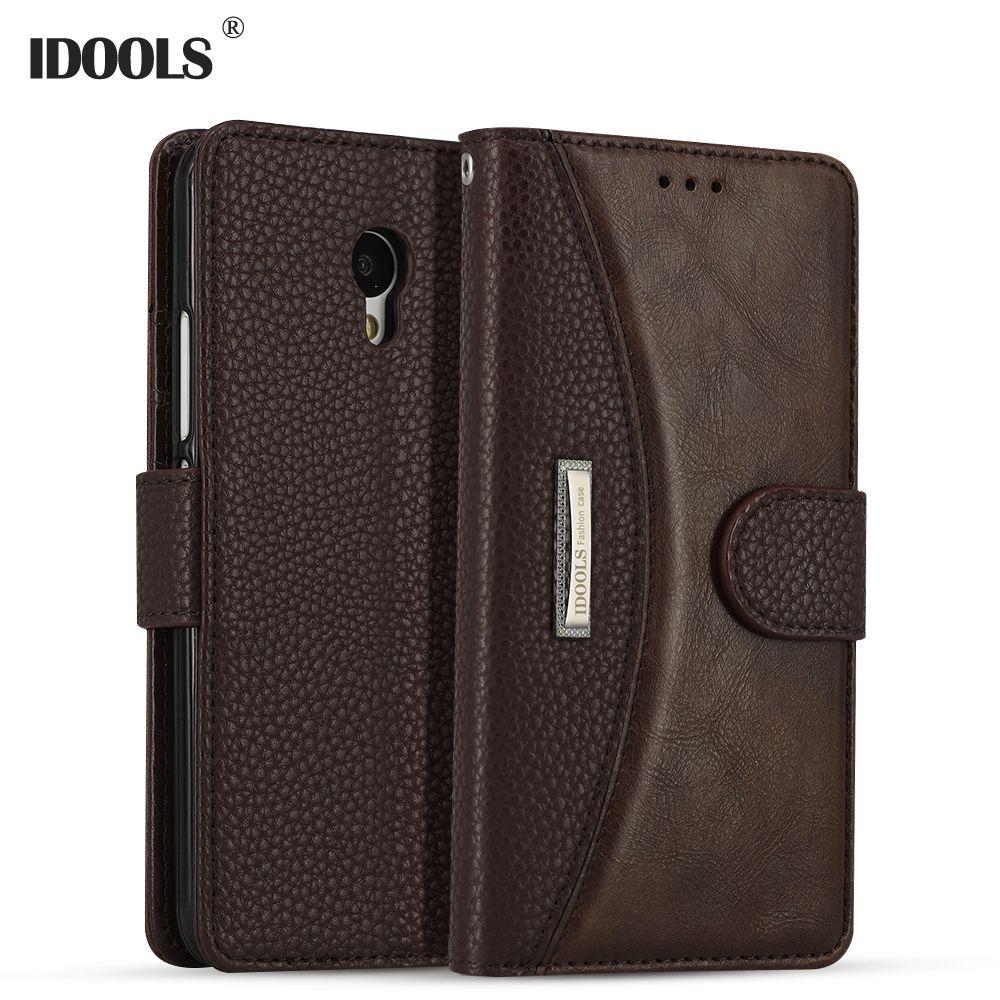 Für Meizu M5 Fall Abdeckung 5,2 Zoll Magnetic Luxus PU Leder Brieftasche Handytasche fall Für Meizu M5 Hinweis M5S E2 M3S Meilan 5 IDOOLS