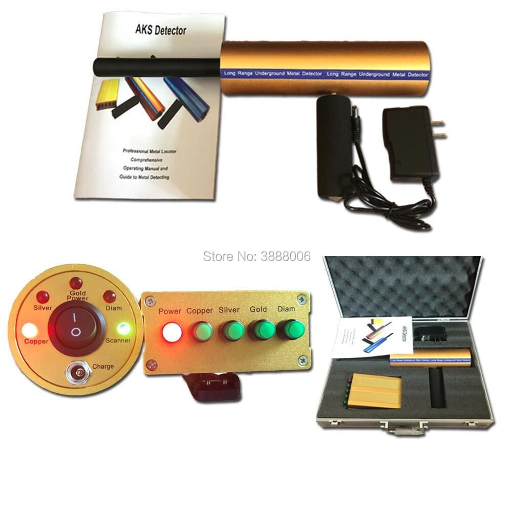New Version Long Range AKS Gold And Diamond Detector Metal Detectors Gold Detector AKS 3D Metal Detector Machinery