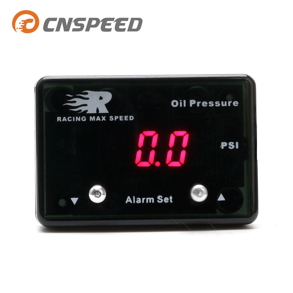 CNAPEED Auto Öl Druck IP-OPM-01 Öl Druck Meter Auto 0 ~ 8 BAR Digitale Diesel Benzin Turbo Hilux Ranger YC101295
