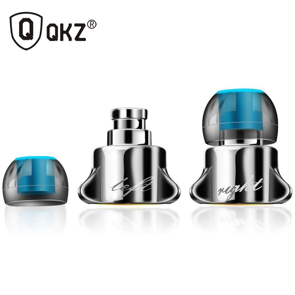 Qkz x10 interactivo del auricular en la oreja los auriculares con micrófono headset música enthusiast valor q móvil bajo la oreja fone de ouvido