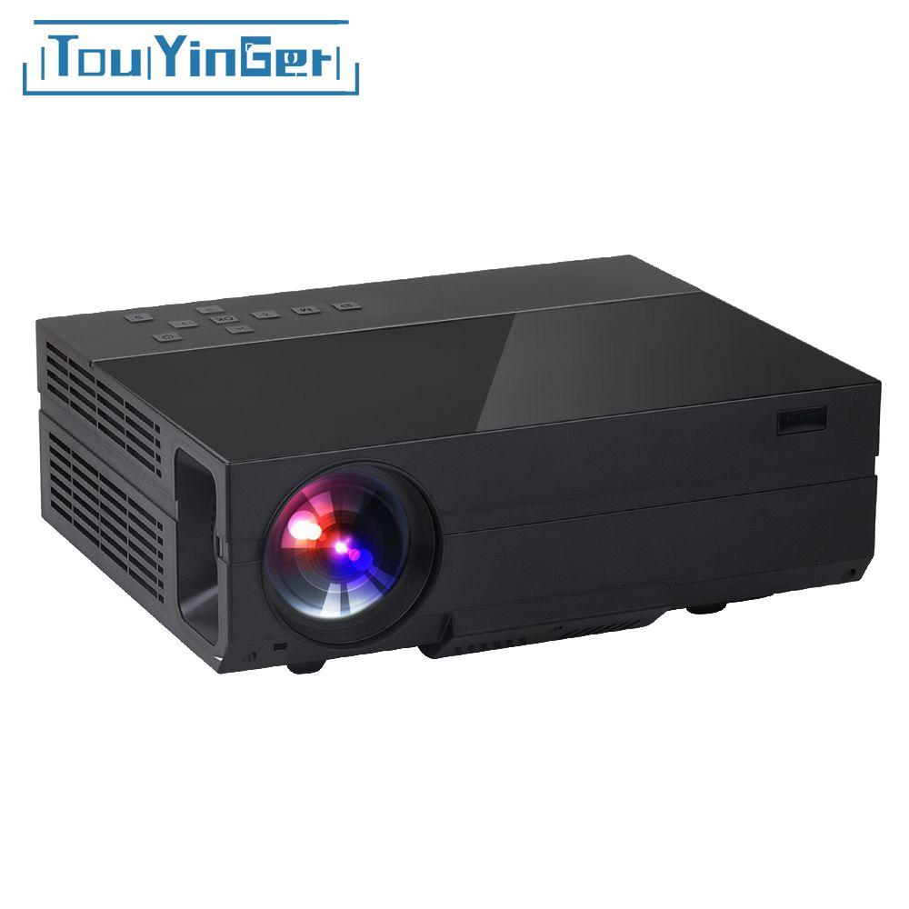 Touyinger X10 T26 T26K LED film Projector full HD 1920*1080px 3500 Lumens Home Beamer Video Home Theater Multimedia HDMI/VGA/ AV