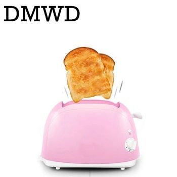 DMWD Household Baking Bread making Machine Automatic electrical Toaster Breakfast Machine maker Toast oven 2 Slices pieces EU US