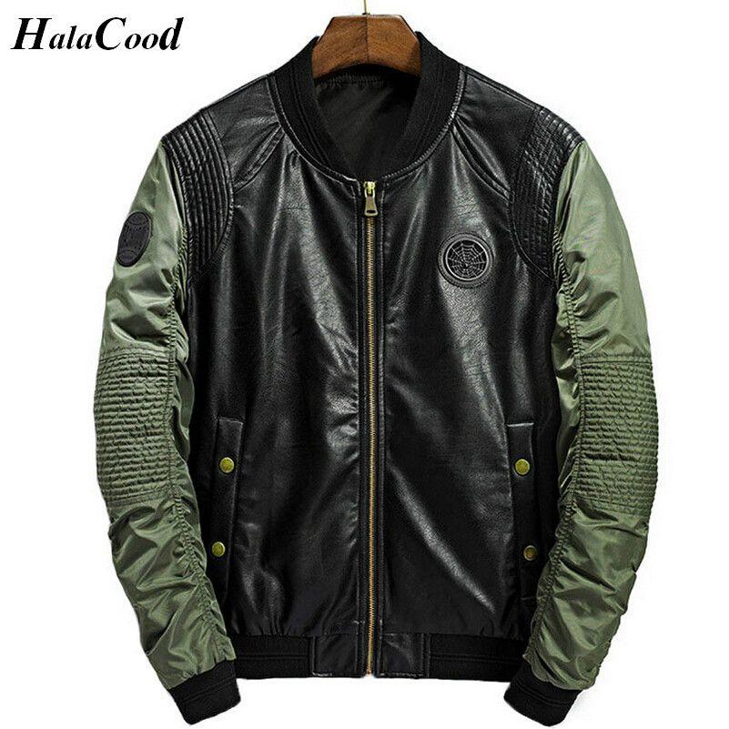 High Quality 2017 Spring Autumn Casual Solid Fashion Slim Bomber Jacket Men Overcoat New Arrival Baseball Jackets Men's Jacket