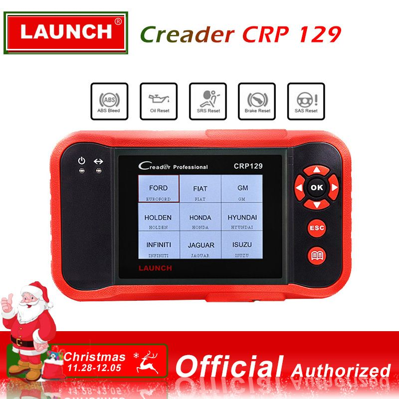 LAUNCH CRP129 Scanner Automotivo obd2 OBD obd 2 Car Code Reader Scan Tool Pro 2018 Launch X431 VIII Auto OBDII Diagnostic Tool