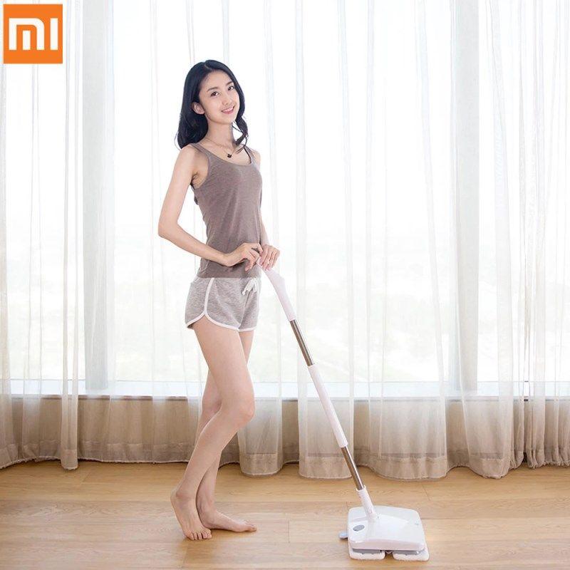 Xiaomi Reiniger SWDK-D260 Handheld Drahtlose Elektrische Wischer Boden Scheiben Nass Wischen Mit Led Licht in Dunklen Nacht
