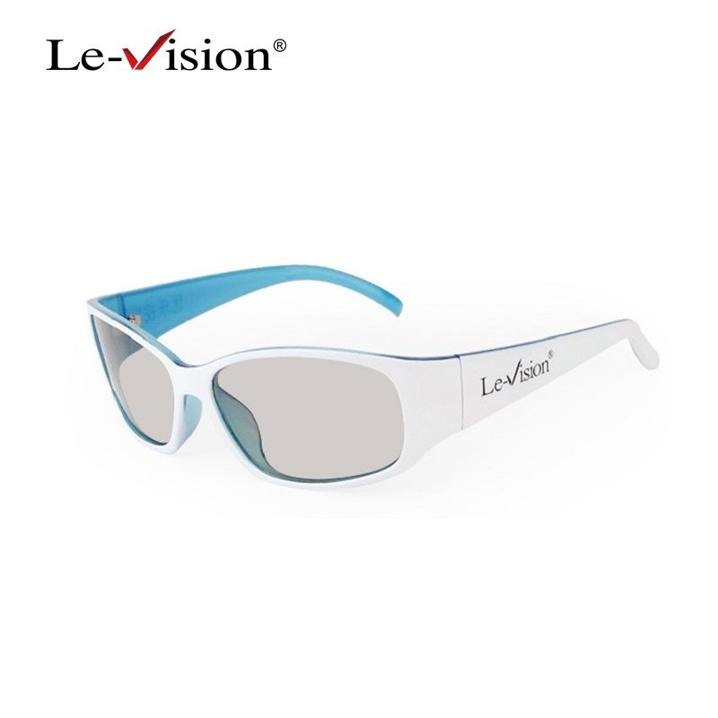 Le-Vision LSZ013 Adult Polarized 3D Glasses Passive RealD Theater Glasses for Cinema 3D System/ Home Theater Projector/ FPR TV
