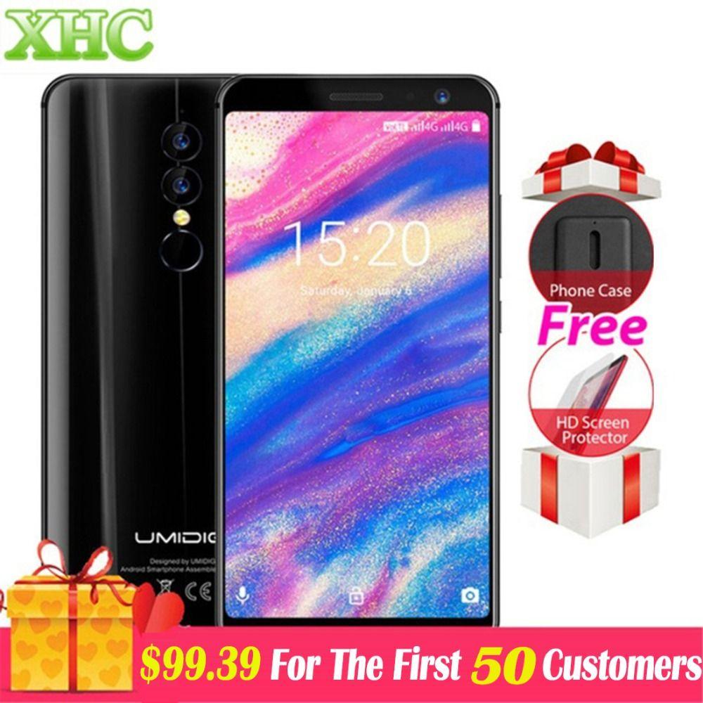 UMIDIGI A1 Pro Android 8.1 Global Smartphones 5.5 inch 3GB RAM 16 ROM MT6739 Quad Core 3150mAh 13MP 5MP Dual SIM 4G Smartphones