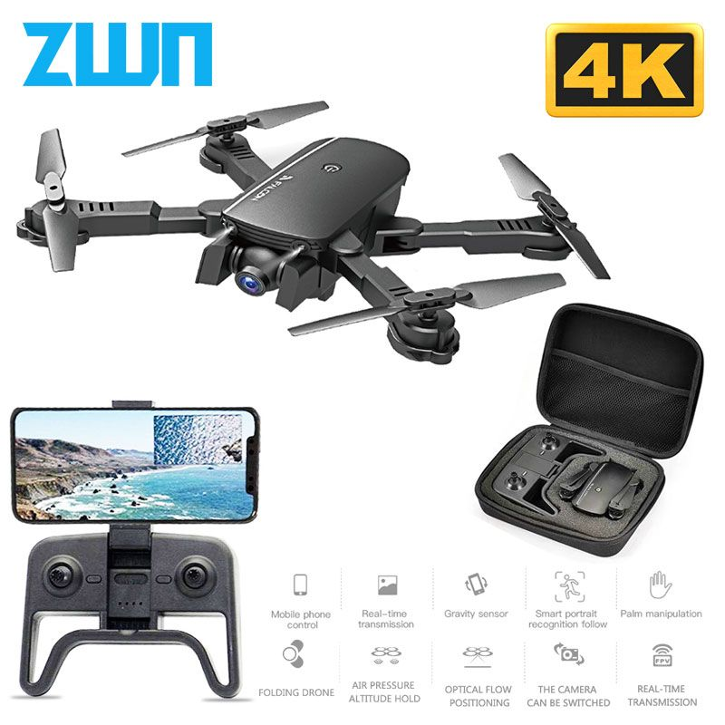 R8 1808 Wifi FPV RC Drone with 1080P 4K HD Camera Quadcopter Optical Flow Positioning Gesture Photo Dron Vs sg106 Visuo xs816