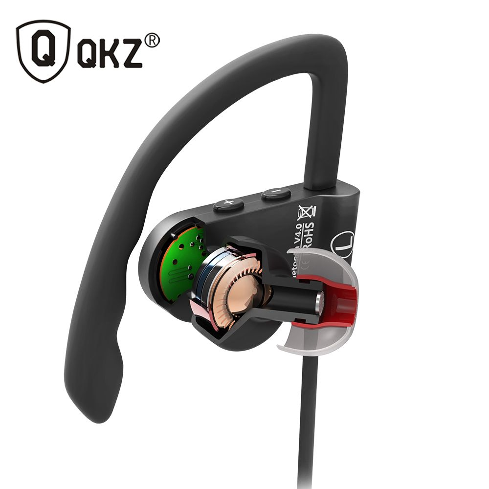Bluetooth Earphone Sport Wireless HiFi Music Stereo Headphone For iPhone Samsung Xiaomi fone de ouvido QKZ QG8 Bluetooth Headset