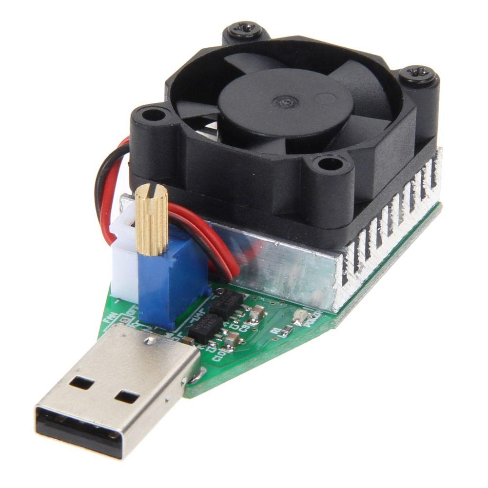 15 watt RD Industrie Grade Elektronische Last Widerstand Usb-schnittstelle Entladung Batterie Kapazität Test Meter mit Fan Einstellbare Strom