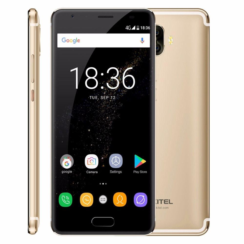 Original Oukitel K8000 4G LTE Mobile Phone 4GB RAM 64GB ROM MT6750T Octa Core Android 7.0 5.5''HD 8000mAh 13MP Fingerprint OTG