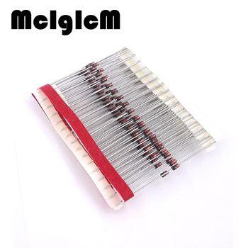 MCIGICM 100 pcs 1 W Zener diode DO-41 1N4733A 3.6 V 3.9 V 4.3 V 4.7 V 5.1 V 5.6 V 6.2 V 6.8 V 7.5 V 8.2 V 9.1 V 10 V 11 V 12 V