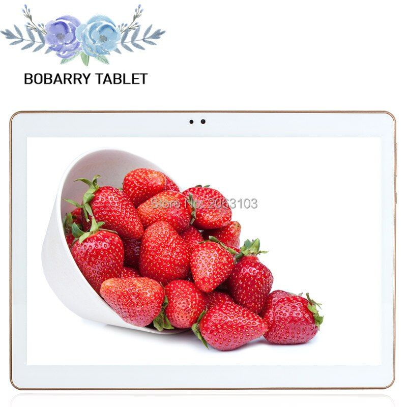 10,1 zoll 3g 4g Lte Die Tablet PC Octa Core 4g RAM 64 gb ROM Dual SIM karte Android 5.1 Tab GPS bluetooth tabletten + leder fall