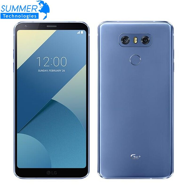 Original Unlocked LG G6 Plus H870DSU 4G LTE Android Dual Sim Quad Core RAM 4GB ROM 128GB 5.7