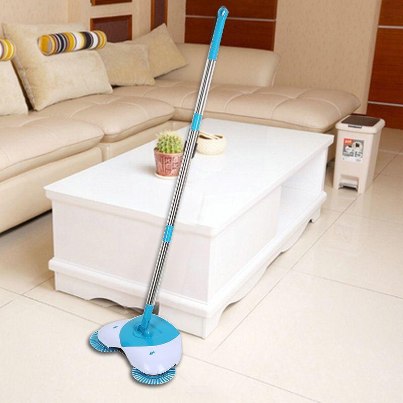Magic Broom 360 Degree Rotatable Sweeping Machine Long Handle Hand Push Broom Sweeper Floor Dust Litter Home Cleaner Tools