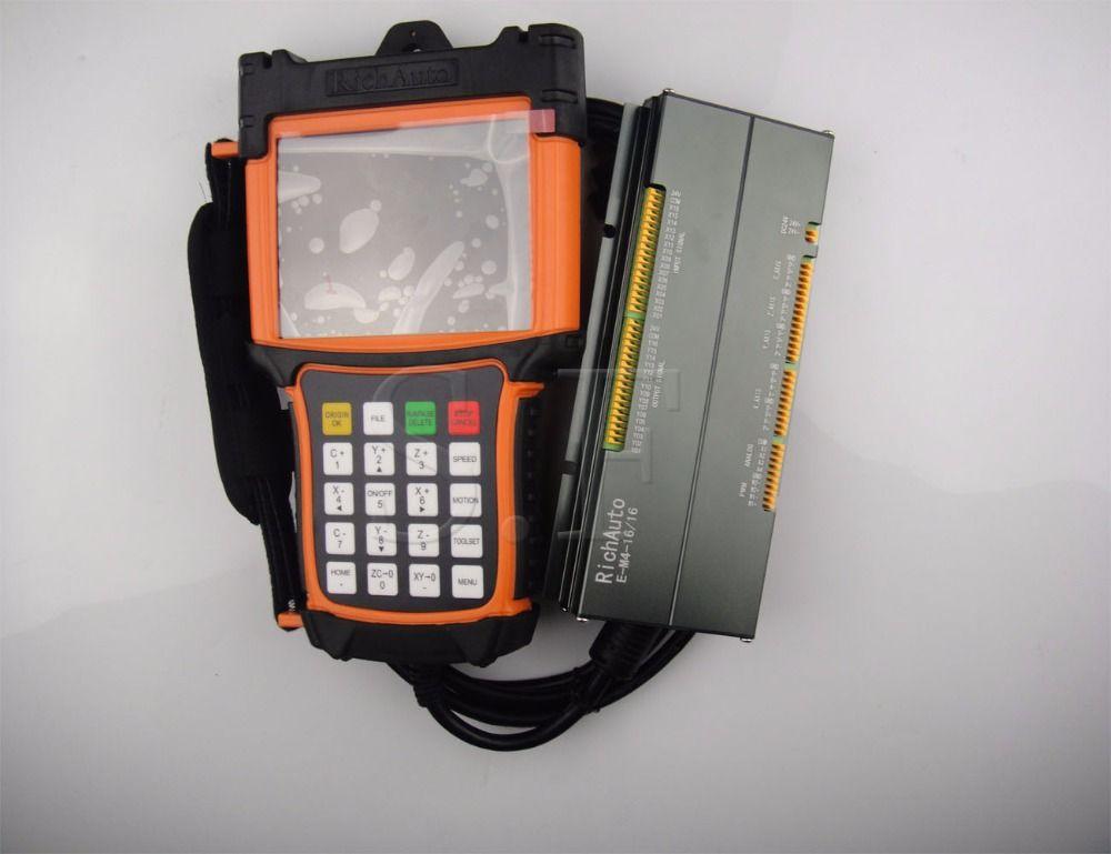 4 achsen cnc motion control system A58 DSP kontrollsystem richauto marke kostenloser versand