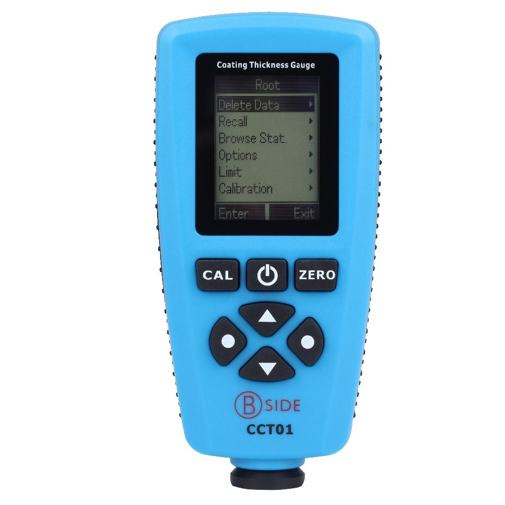 Digital Coating Thickness Gauge Meter Tester Car Paint Thickness Meter Range 0 to 1300um (0 to 51.2mils) With Internal F N Probe