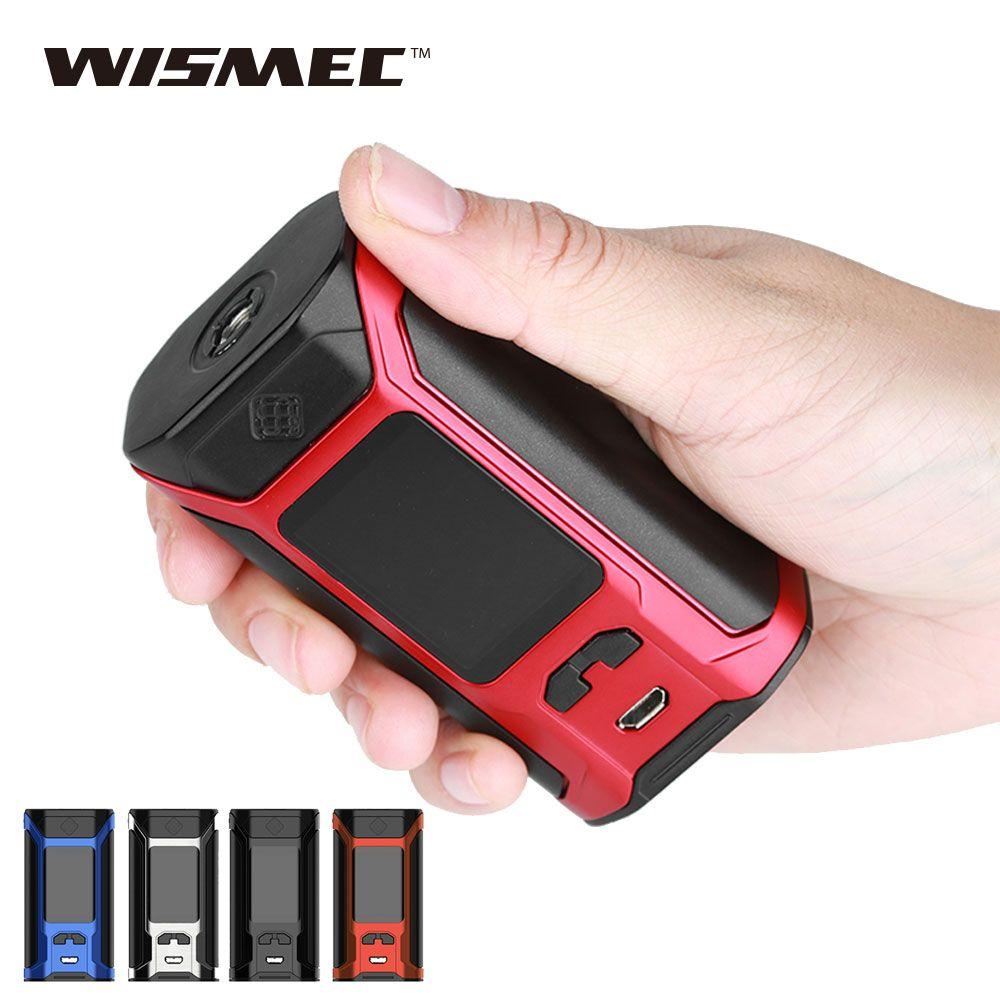 Original 200 Watt WISMEC SINUOUS RAVAGE230 Box MOD 200 Watt Max Ausgang 1,45 zoll Oled-display Keine Batterie e cigs SINUOUS RAVAGE230 MOD