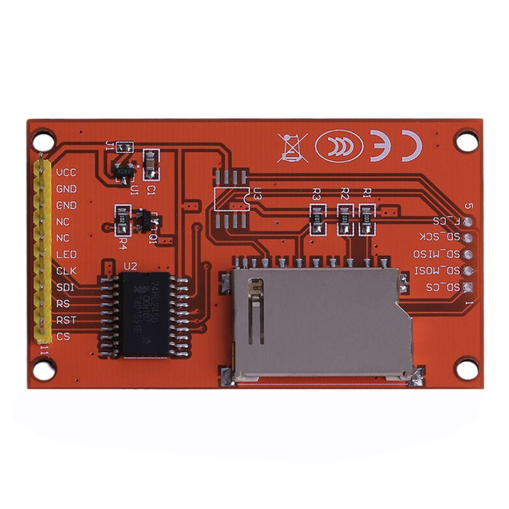 Профессиональные и практические 2.2 дюймов SPI Цвет ЖК-дисплей Экран серийный TFT Модуль Поддержка для развития борту Arduino Прямая доставка