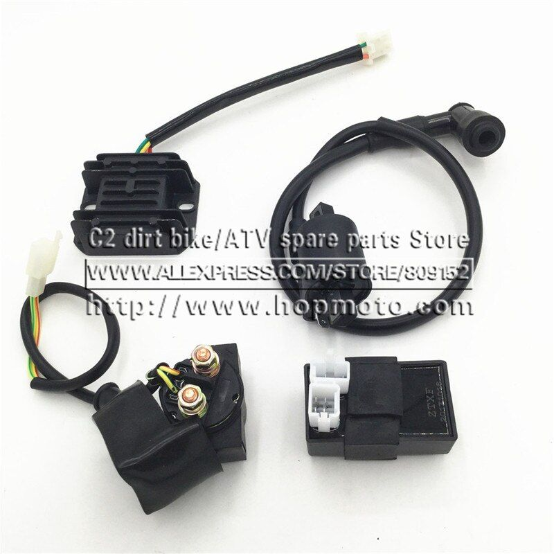 6 pins CDI Ignition Coil Relay Refiercer for CG150 200 250CC ATV Dirt Pit Bike Motorcycle Engine electrical parts