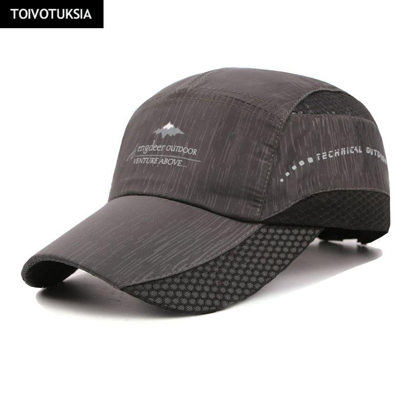Laufkappen Neue Sommer Kappe Schnell Trockenen Hut Sport Fitness Sun Caps Atmungs Ultra Thin Hysterese