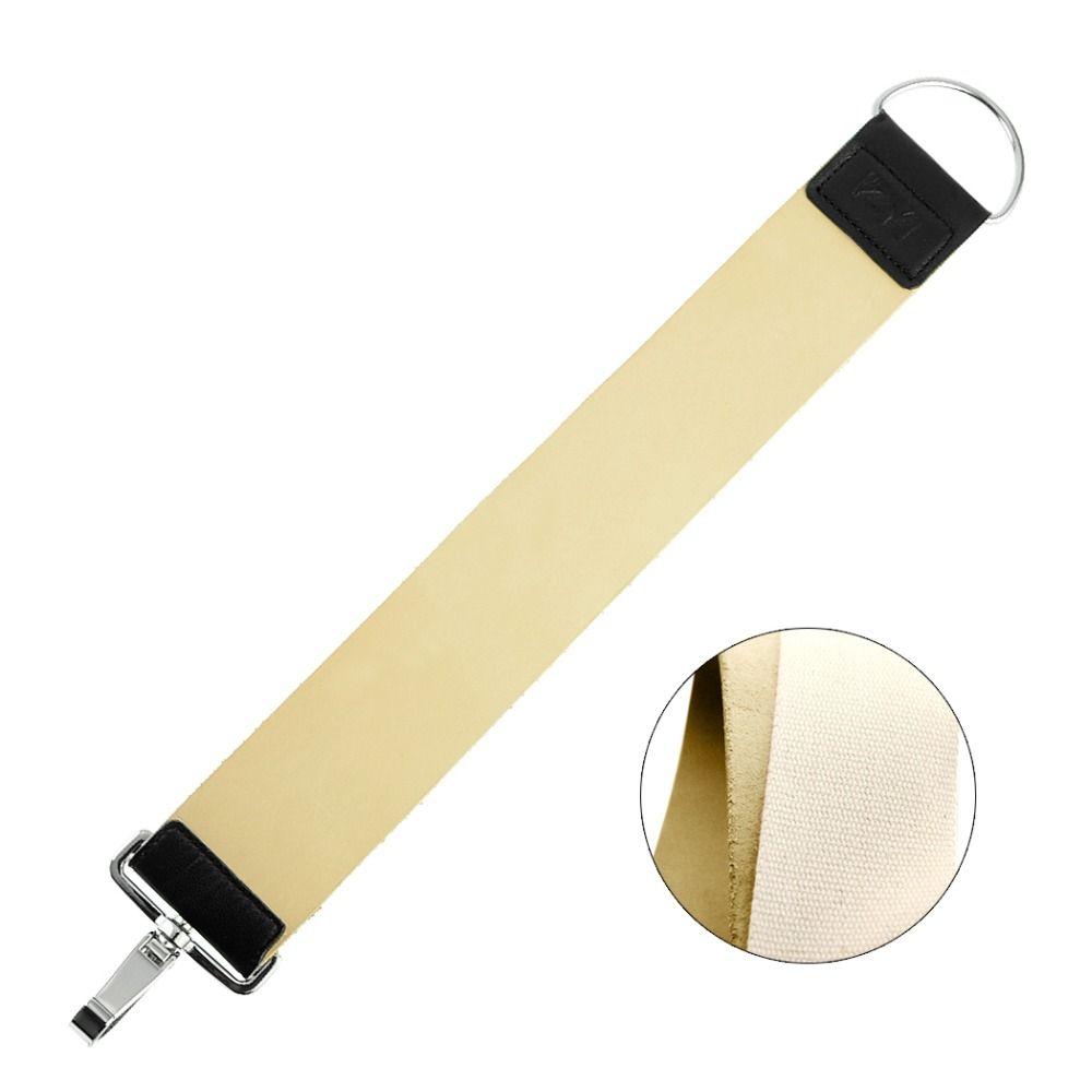 ZY Pro En Cuir/Toile Affûtage Strop Ceinture Pour Rasoir Sharpener Affûtage Sangle de Coiffeur Pliant Couteau Rasage Barbe Outil