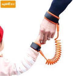 Ajustable niños Arnés DE SEGURIDAD muñeca niño Correa anti-perdida enlace niños asistente caminar andador wristband 1.5 m/ 2.5 m