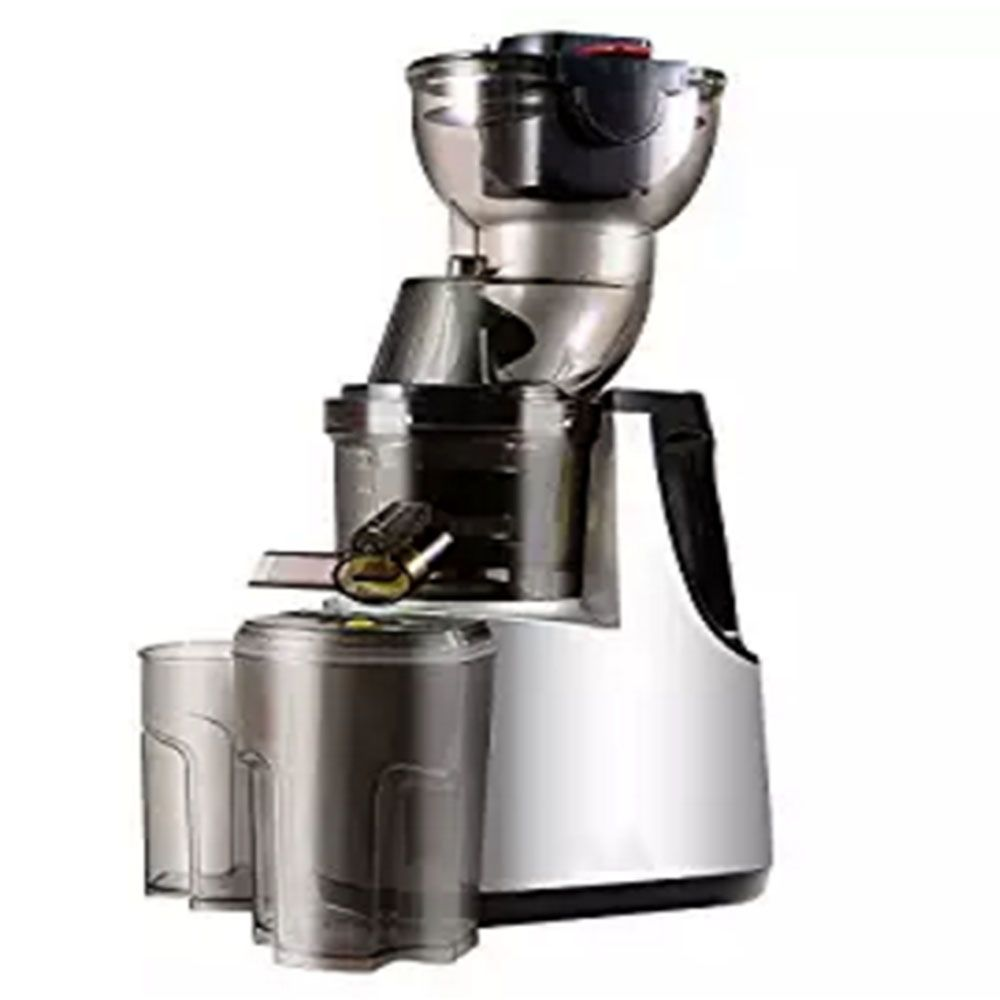 250W Vertical Masticating Cold Press Juicer 37RPMs Wide Chute Anti-Oxidation Juice Extractor Fruit Vegetable Kitchen Appliances