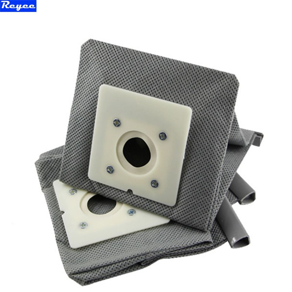 2 pcs Cloth/Non-woven Vacuum cleaner dustbag reuse/recycle Washable bag for Rowenta ZR0007 0049 RO1131 1121Vacuum cleaner parts