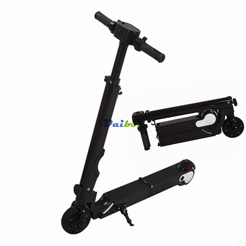 Foldable Mini electric scooter Folding Two wheels skateboard hoverboard e-scooter Kick Scooter for Kids or adults