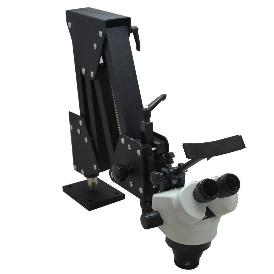 Schmuck werkzeuge stereo mikroskop mit 7x-45x Mikroskop für schmuck und dental werkzeuge mit Klarer linsen