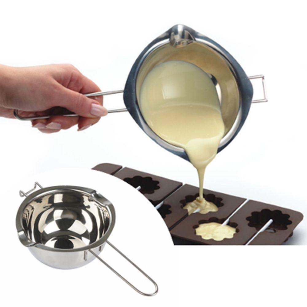 304 En Acier Inoxydable Double Chaudière Insert Universel Fondant Caramel Chocolat Fondre Bol Beurre Fromage Pot Pan Chauffage de Cuisson Outil