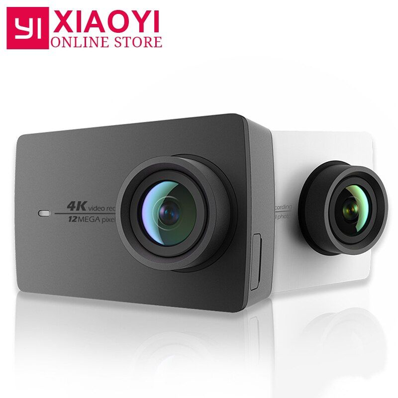 Original Xiaomi YI 4K Action Camera 2 <font><b>Ambarella</b></font> A9SE 2.19 155 Degree 12MP Xiaoyi Sports Camera EIS LDC [International Edition]