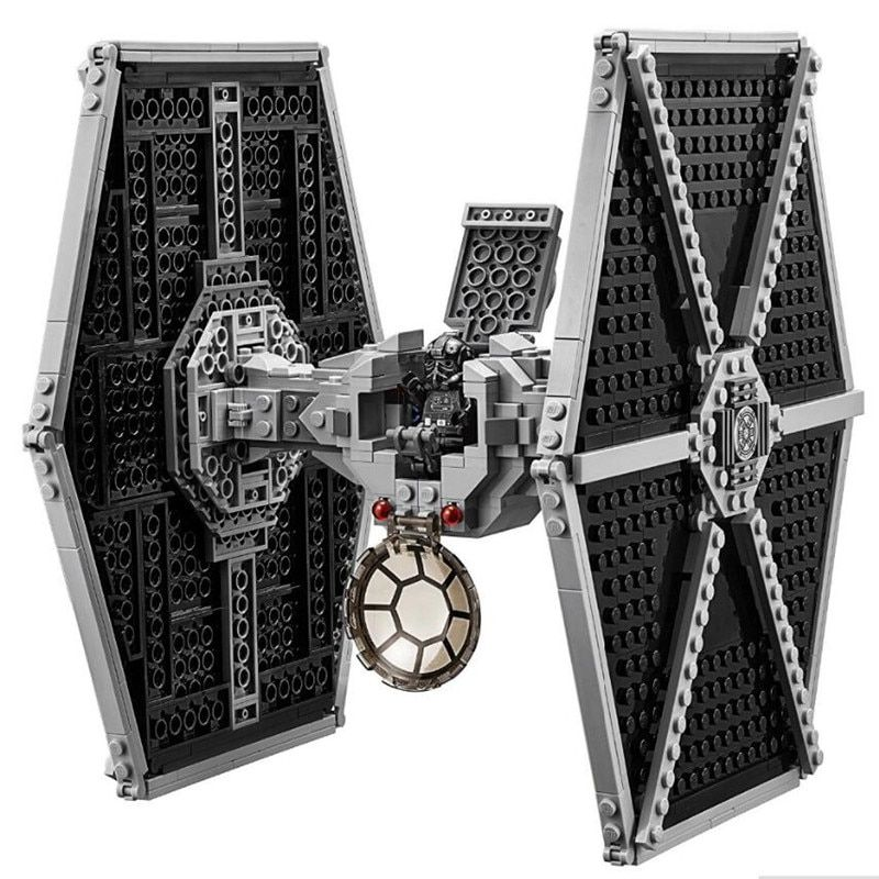 Legoing Star Wars Imperial TIE Fighter Costruzioni Models & Building Blocks Toys for Children legoinglys 75211