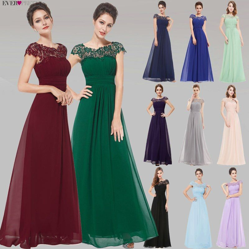 Robes de soirée mode jamais jolie pourpre EP09993 mousseline de soie dos ouvert élégant Long 2019 haute qualité formelle Occasion robes de soirée