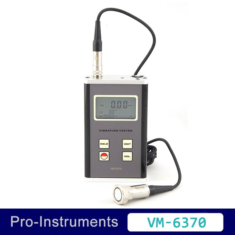 Landtek VM6370 Moving Machinery Imbalance and Deflecting Tester Vibrometer Digital Vibration Meter
