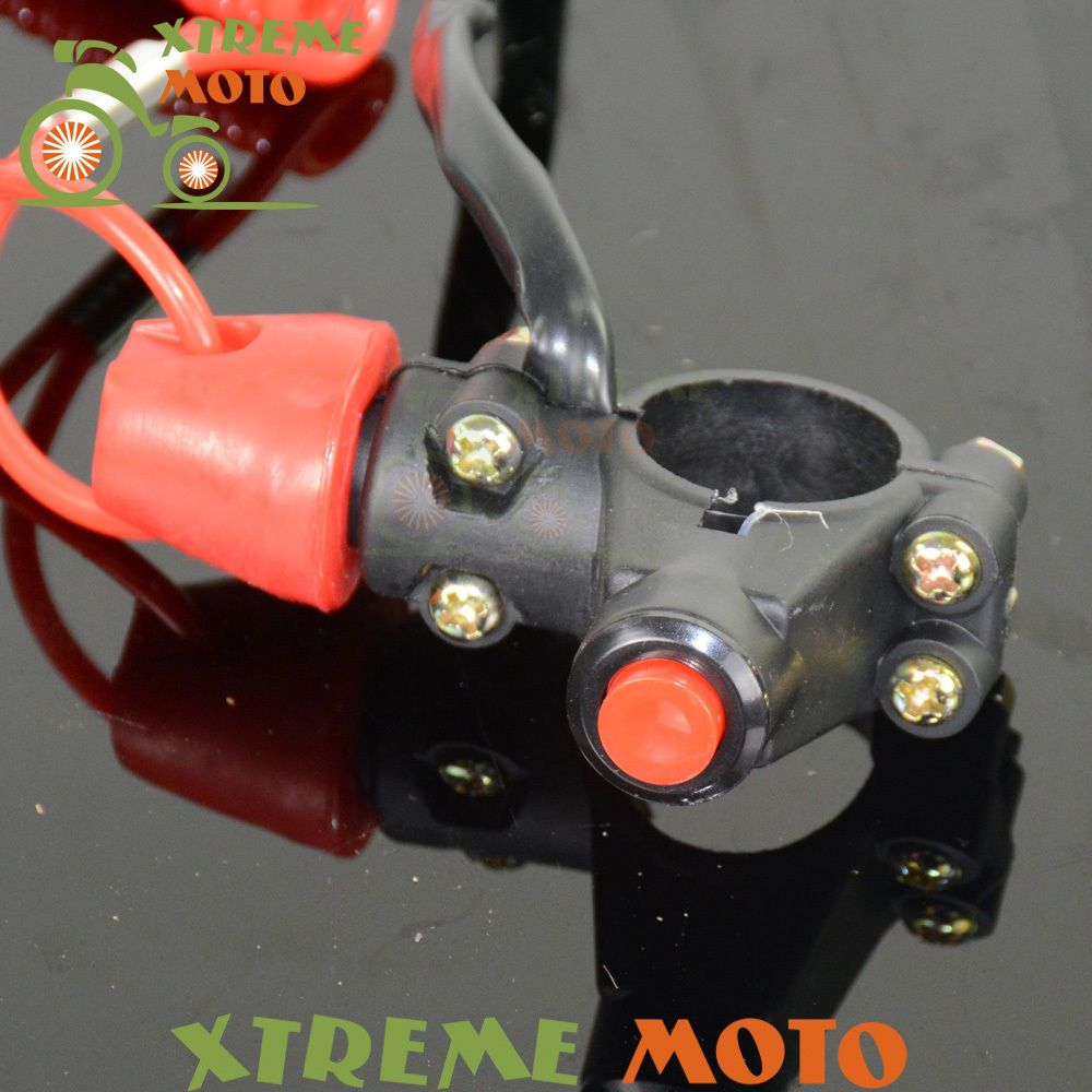 Emergency Kill Stop Outboard Engine Switch Push Button For KTM KX KLX RM RMZ RMX CR CRF YZ YZF WR WRF XR Motocross Enduro