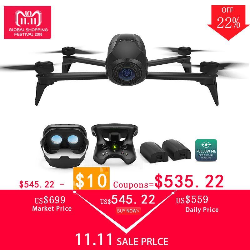 Drone 4 karat Parrot Bebop 2 Power FPV Drohnen mit Kamera HD Quadrupter 4 karat Bis zu 25 Minuten von flug zeit, FPV brille Quadcopter