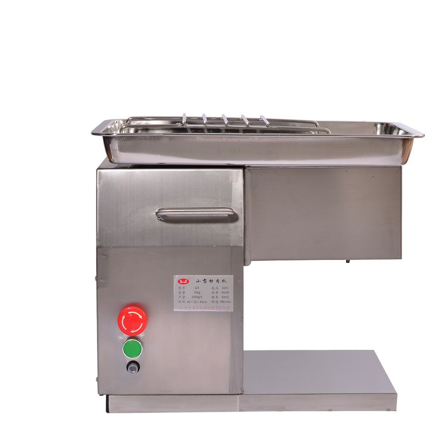 Stainless Steel electric Meat Slicer meat slicing Desktop Type Meat Cutter Meat Cutting Machine 110V/220V