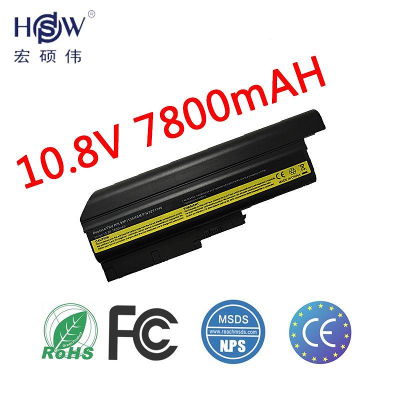 HSW laptop Batterie für IBM Lenovo ThinkPad R60 R60e T60 T60p R500 batterie T500 W500 SL400 SL500 SL300 40Y6799, 40Y6795 batterie