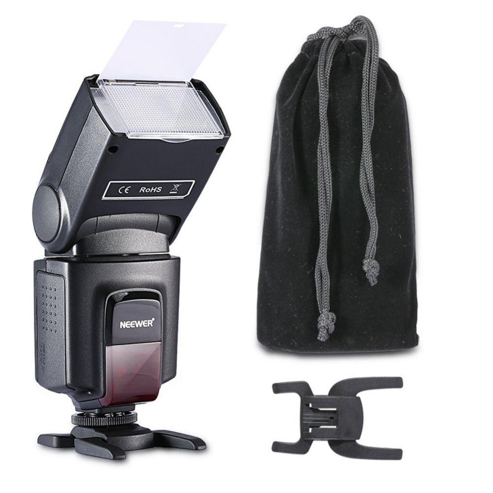 Neewer TT560 Flash Speedlite pour Canon 6D/60D/700D/Nikon D7100/D90/D7000/D5300/tous les appareils photo avec chaussure chaude Standard + Softbox