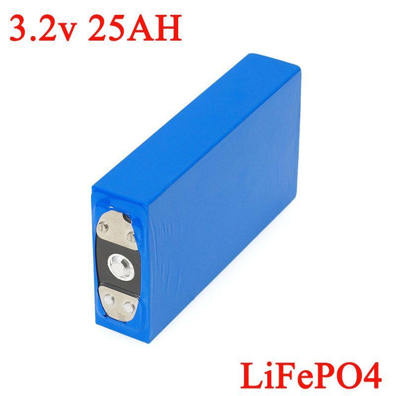3,2 V 25Ah batterie pack LiFePO4 phosphat Große kapazität 25000 mAh Motorrad Elektrische Auto motor batterien änderung