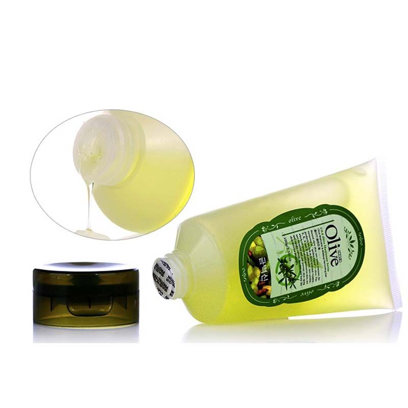 Korean Cosmetics Olive Cleansing Gel  Oil Makeup Remover Shrink Pores Cleanser Quick Dissolve Deep Purify Moist Mild