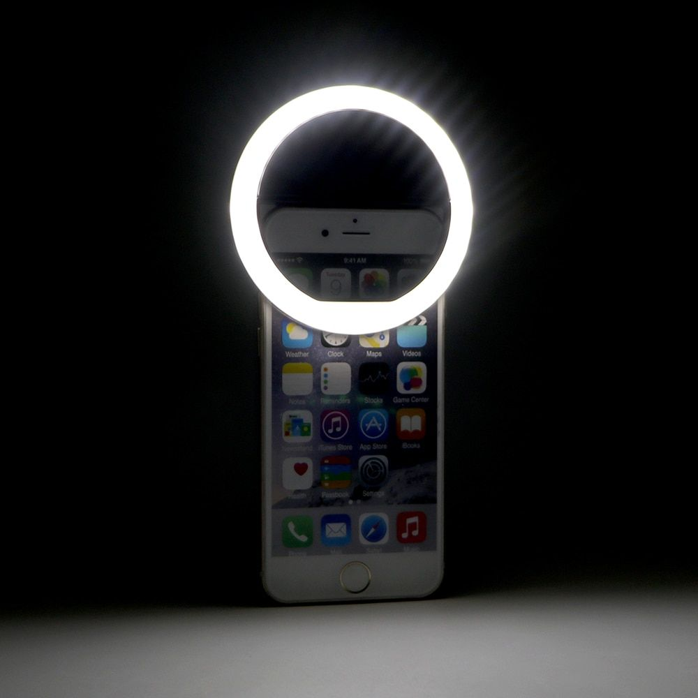 Mini USB Rechargeable Portable Cell Phone Camera Fill Light 36 Leds For iPhone IOS Android Smartphone LED Flash Fill Light
